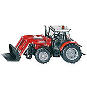 Farming - Massey Ferguson Tractor With Front Loader - 1:32 Scale - Siku