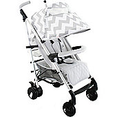 My Babiie Billie Faiers MB51 Stroller (Grey Chevron)
