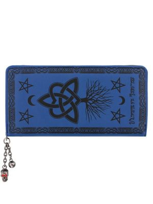 Banned Last Hope Of Misery Wallet 18.5 x 9.5 x 3cm, Blue