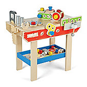 Tidlo Wooden Workbench with Tools