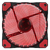 Game Max Gailforce 32 x Red LED 12cm Cooling Fan