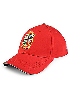Canterbury British & Irish Lions Cotton Drill Adjustable Cap - Tango Red - Red