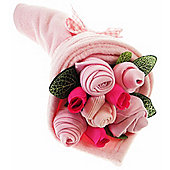 Traditional Baby Pinks Clothes Bouquet