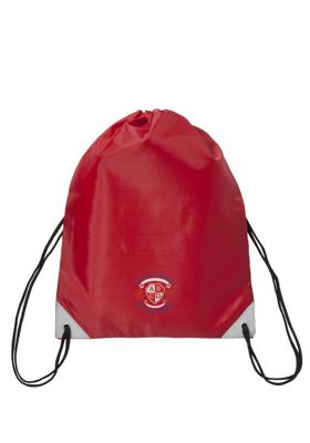 Embroidered School PE Bag