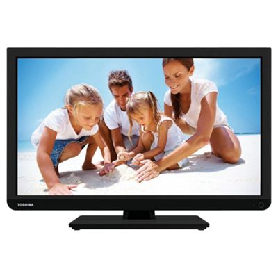 Toshiba 40D1333B 40 Inch Full HD 1080p LED TV / DVD Combi With Freeview