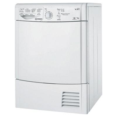 Indesit Ecotime Condenser Tumble Dryer, IDCL 85 B H (UK) - White