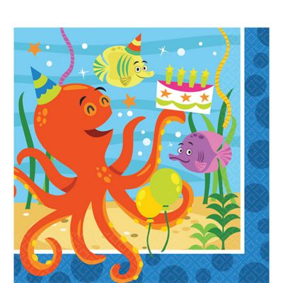 Ocean Buddies Napkins - 2ply Paper