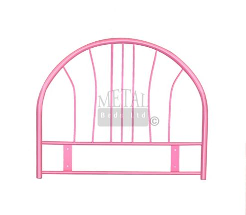 MetalBedsLtd Miami Metal Headboard - Pink