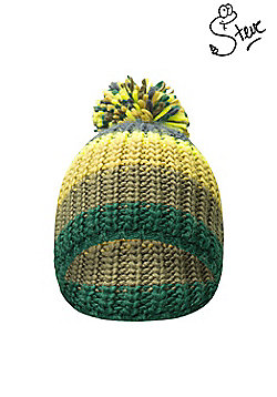 Mountain Warehouse Steve Backshall Youth Knitted Hat - Green