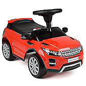 Children's Range Rover Evoque Ride On Car Toy - Red