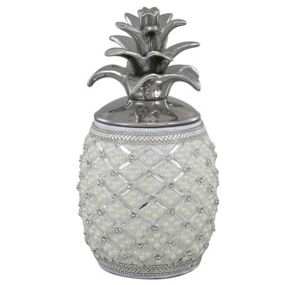 Beaded Pineapple Jar