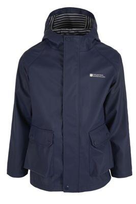 Glee Kids Waterproof Patterned Hood Outdoor Rain Coat Jacket