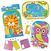 Stick 'n' Mosaic Craft Kits (Pack of 4)