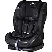 KinderKraft Gravity Car Seat 1-2-3 - Black