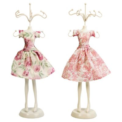 Vintage doll jewellery stand