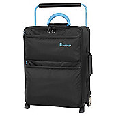 IT Luggage World's Lightest 2 wheel Small Black Suitcase