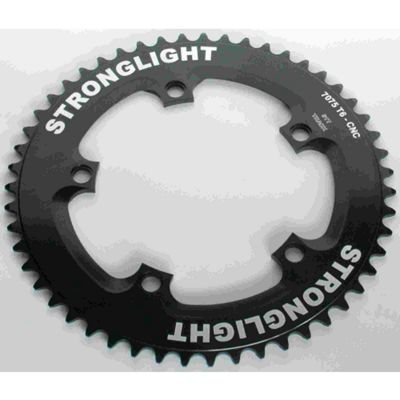 Stronglight 5-Arm/130mm Track Chainring: Black 46T.