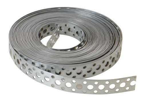 Forgefix Builders Galvanised Fixing Band 20mm x 1.0 x 10m Box 1