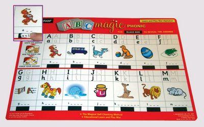 Zoobookoo Alphabet Magic Mat