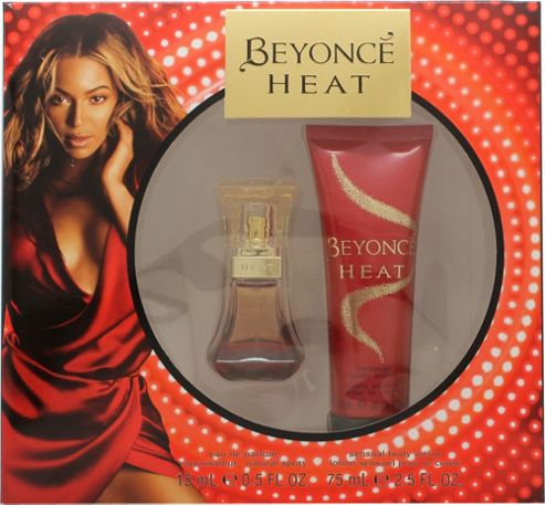 Beyonce Heat Gift Set 15ml EDP + 75ml Body Lotion For Women