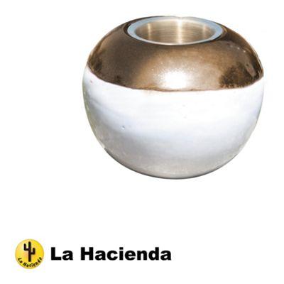 La Hacienda Ceramic Gel Burner - Cream