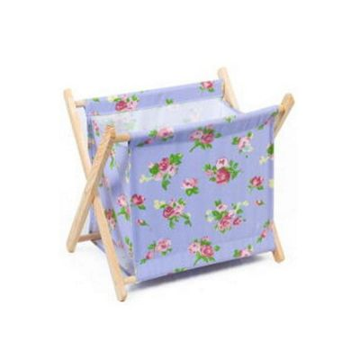 Hobby Gift Knit Sew Blue Floral