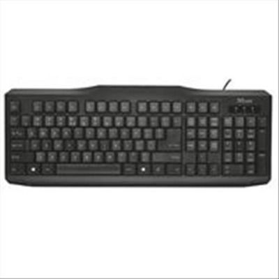 Trust ClassicLine UK USB QWERTY English Black keyboard