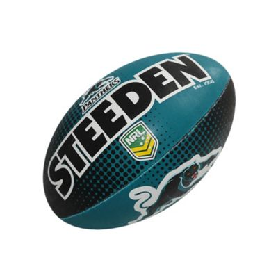 Steeden NRL Penrith Panthers 2018 Supporter Rugby League Ball - 5
