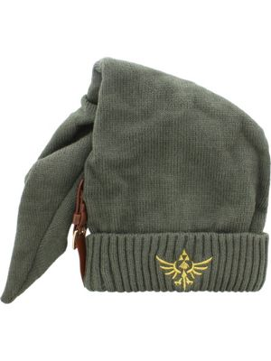 Nintendo Legend of Zelda Long Pointed Beanie With Buckle