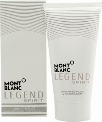 Mont Blanc Legend Spirit Aftershave Balm 150ml For Men