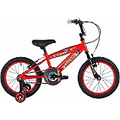 "Bumper Burnout 18"" Wheel Kids Pavement Bike Red"
