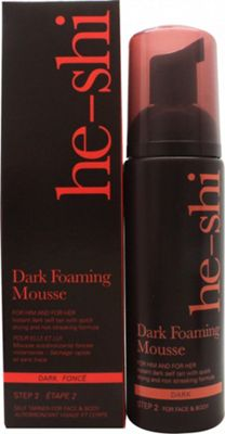 He-Shi Foaming Mousse 150ml - Dark