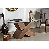 Dark Brown Milano X Coffee Table