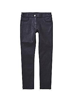 F&F Glitter Coated Jeans - Black