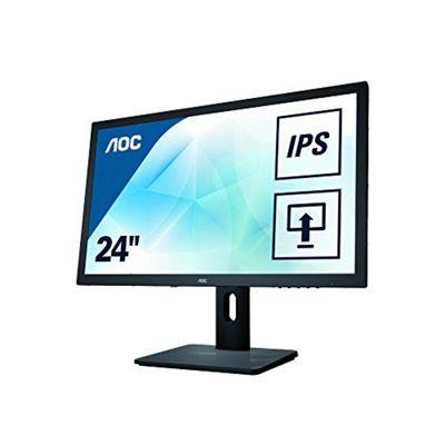 AOC I2475PRQU 24-Inch Widescreen IPS LED Multimedia Monitor - Black