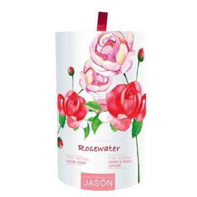 Jason Rosewater Hand Soap and Hand & Body Lotion Gift Set