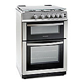 Montpellier MDG600LS 600mm Double Gas Oven & Grill Silver