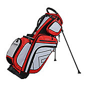 Forgan Of St Andrews Hybrid Golf Stand/Trolley Bag Red/Grey