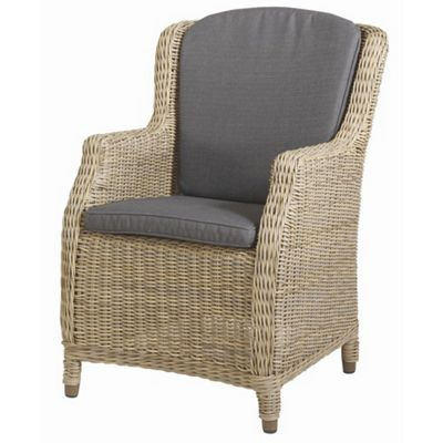 Bridgman Brighton Dining Armchair with Waterproof Seat and Back Cushions