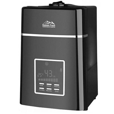 Heaven Fresh HF707 Digital Ultrasonic Humidifier Black