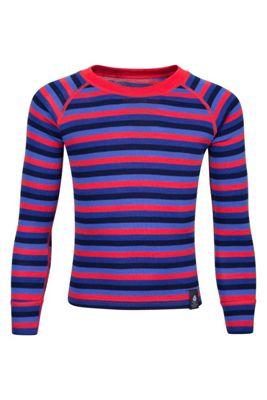 Mountain Warehouse Merino Kids Stripe Round Neck Top ( Size: 5-6 yrs )
