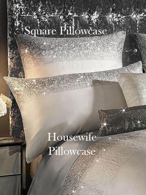 Kylie Minogue Glitter Fade Square Pillowcase