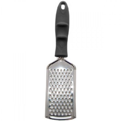 Mason Cash Stainless Steel Flat Grater with Soft Grip Handle