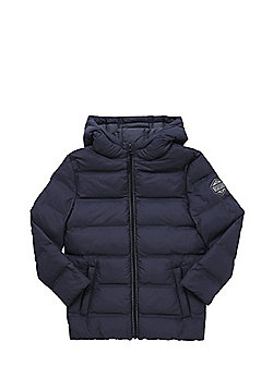F&F Hooded Puffer Jacket - Grey