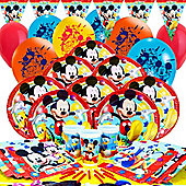 Mickey Mouse Deluxe Party Pack For 16