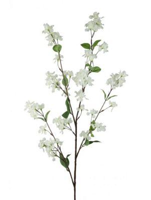 Artificial - Lilac Branch - White