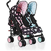 Cosatto Supa Dupa Go Twin Stroller (LoveStar)