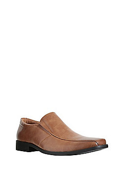 F&F Formal Slip-On Shoes - Tan