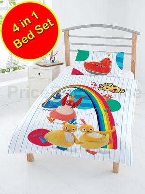 Twirlywoos 4 in 1 Junior Bedding Bundle Set