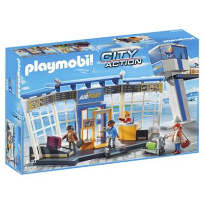 Playmobil 5338 Airport With Control Tower